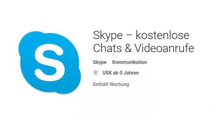 Skype App Fur Android Handys Veroffentlicht