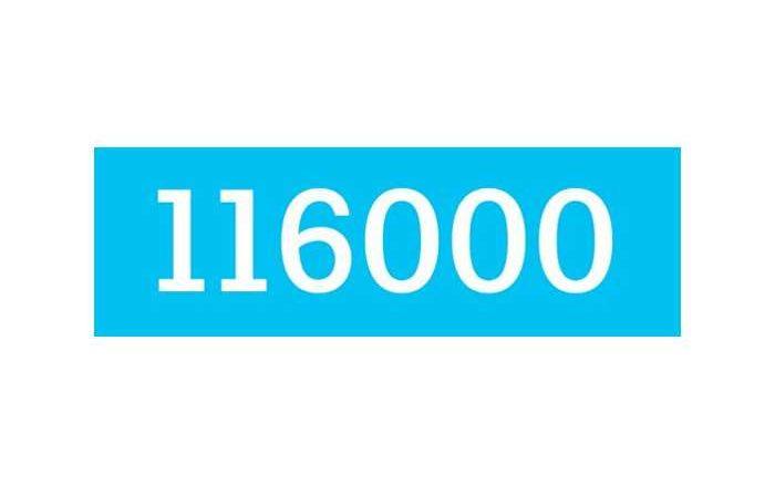 116 000 - Bundesweit einheitliche Rufnummer als Hotline für vermisste Kinder