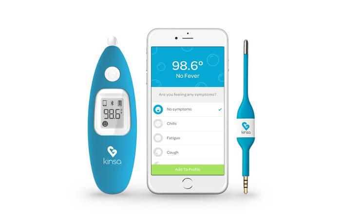 Fieber-Thermometer für das Smartphone