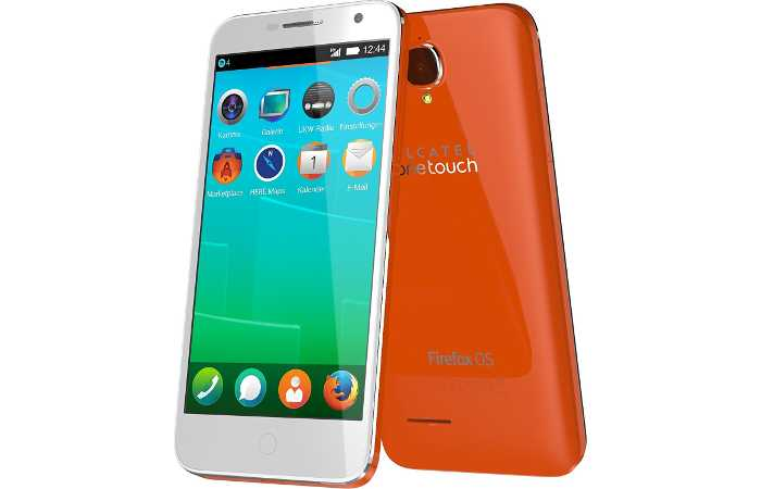 Ab Oktober bei congstar - Alcatel One Touch Fire mit Firefox OS