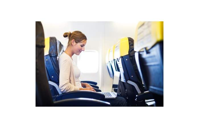 Endlich - Breitband-Internet im Flugzeug