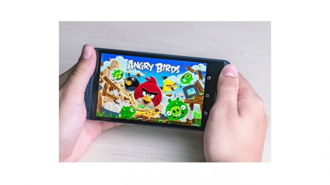 Erfolgreiches Spiel Angry Birds