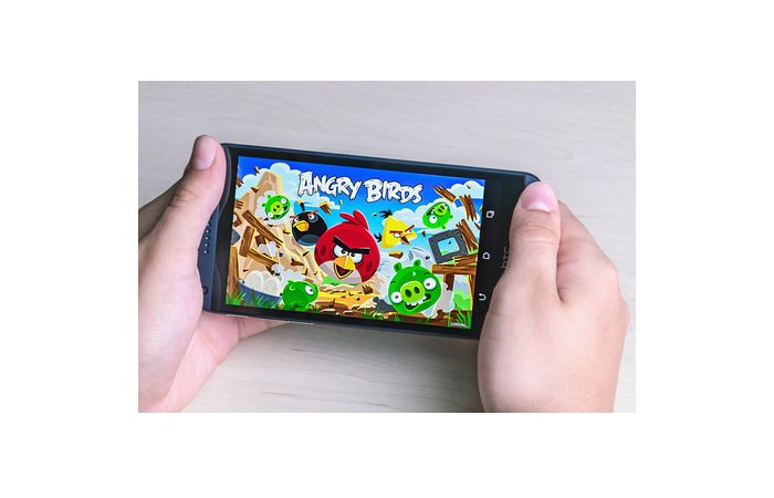 Erfolgreiches Spiel Angry Birds