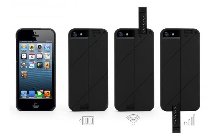 iPhone - Schutzhülle mit Antenne für Top-Empfang