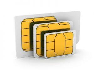 SIM-Karte weg