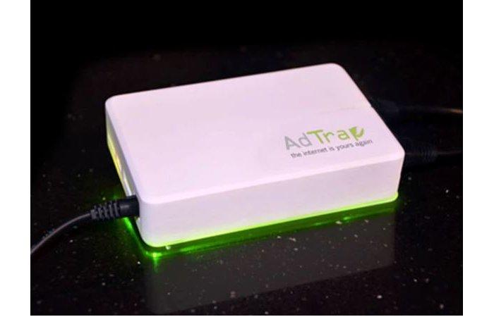 AdTrap - Kleine Box filtert Werbung aus der Internetverbindung