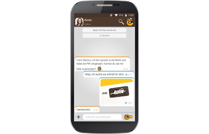 Datenschutz - mehr Sicherheit durch Chiffry und Blackphone