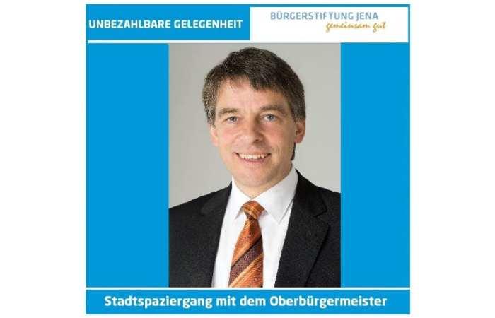 eBay-Auktion - Rundgang mit Jenas Bürgermeister für guten Zweck