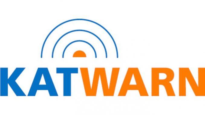 Katwarn - App warnt vor großen Katastrophen