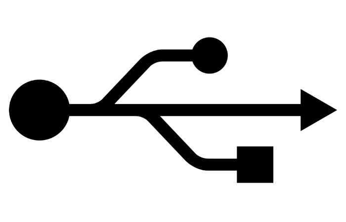 USB 3.1 C - Anschluss mit Datenraten von bis zu 10 GBit/s