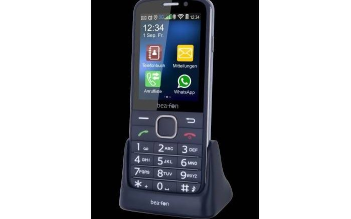 Bea-fon - funktionsreiches Handy SL 820 für Senioren