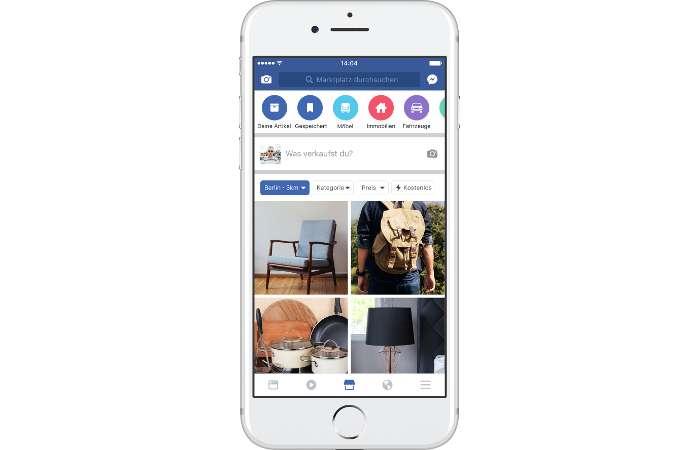 Facebook - Kleinanzeigenmarkt wird ausgerollt