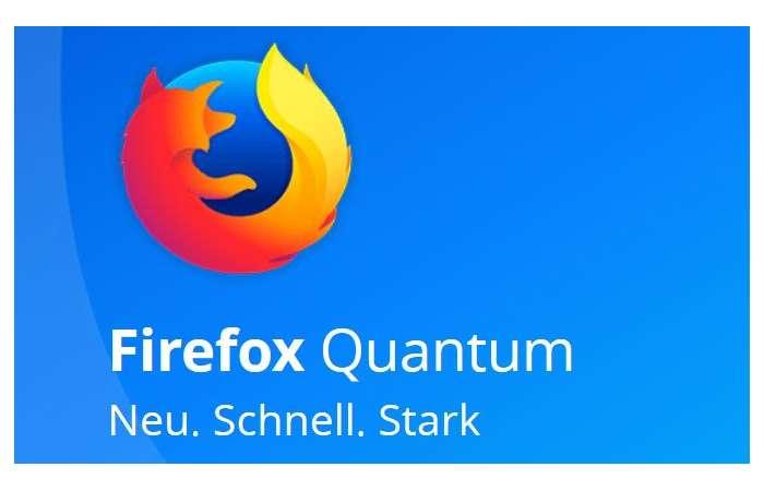 Firefox Quantum - schneller, besser und schöner im Web surfen