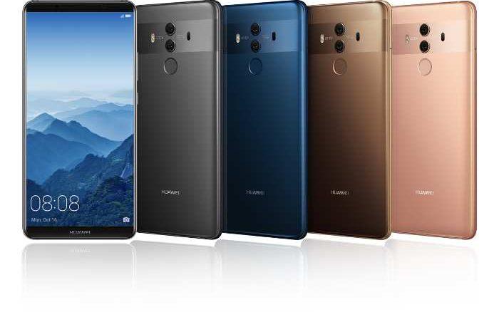 Gigabit-Speed - Huawei stellt Mate 10 Pro vor
