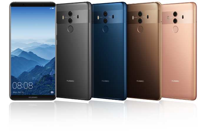 Gigabit-Speed - Huawei stellt Mate 10 Pro vor