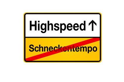 DSL Geschwindigkeiten