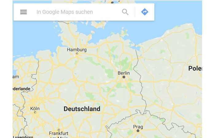 Barrierefreiheit - Google Maps mit neuer Kartenfunktion