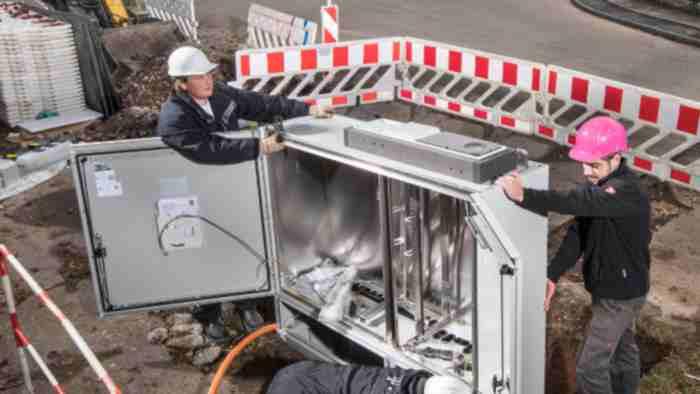 Telekom - Ladestation für E-Autos an Verteilerkästen