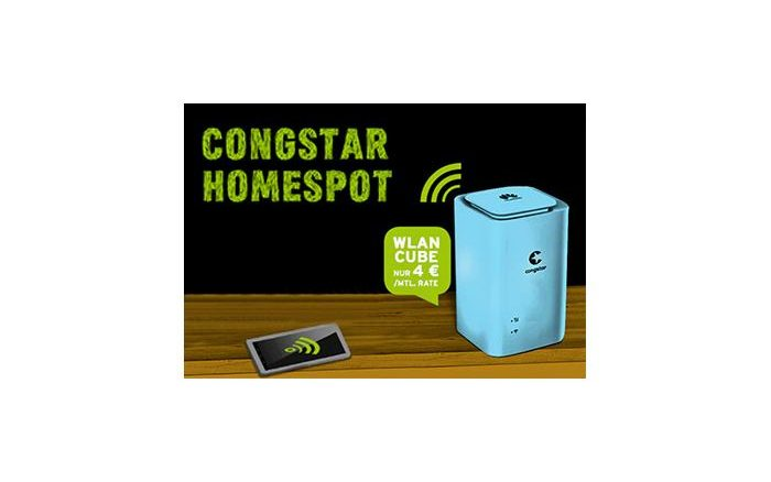 Congstar - Homespot mit viel Datenvolumen