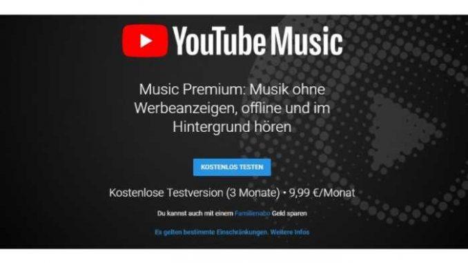 Bezahlmodell - Google startet YouTube Music in Deutschland