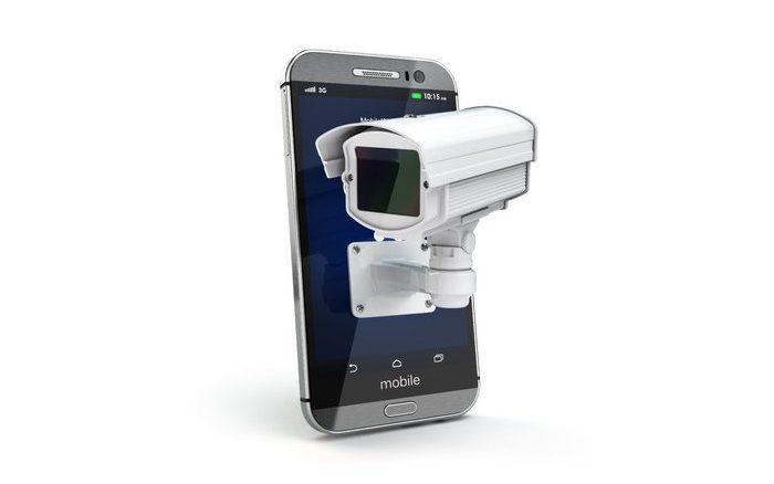 Überwachung - Apps schneiden Bildschirmeingaben mit