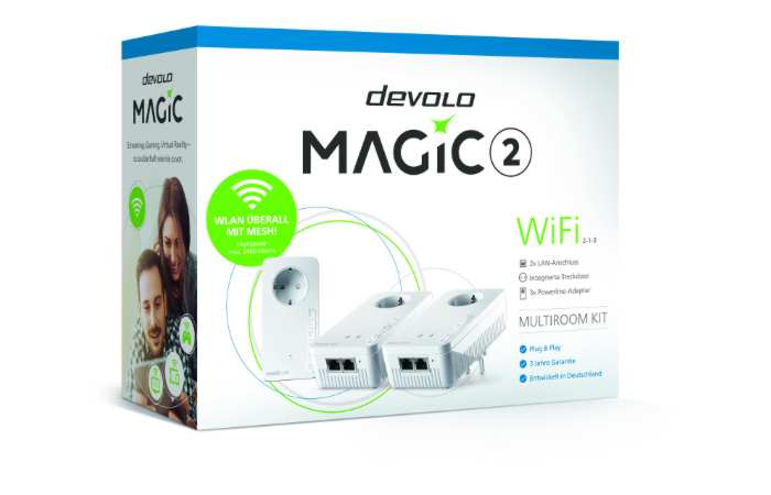 Devolo - Magic 2 bietet Powerline mit 2.400 MBit/s