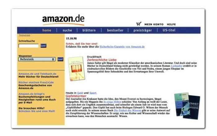 Jubiläum - 20 Jahre Amazon haben Einkaufsverhalten geändert