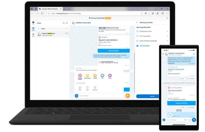 WhatsApp Konkurrent von Microsoft – Kaizala startet weltweit