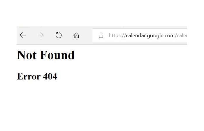 Google Kalender weltweit ausgefallen