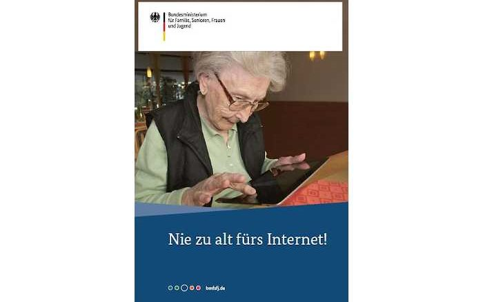Nie zu alt fürs Internet - Neuauflage Ratgeber für Internetneulinge