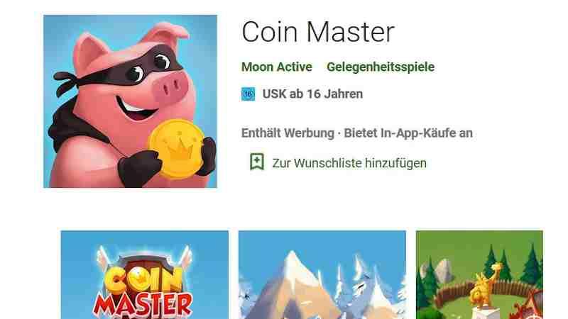 Suchtgefahr für Kinder – Bundesprüfstelle prüft Spiel-App Coin Master