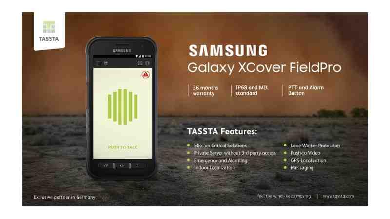 Krisensichere Kommunikation – TASSTA als Exklusivpartner von Samsung