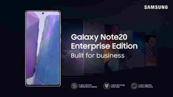 Samsung Top-Modelle – Das neue Galaxy Note 20 und das Note 20 Ultra