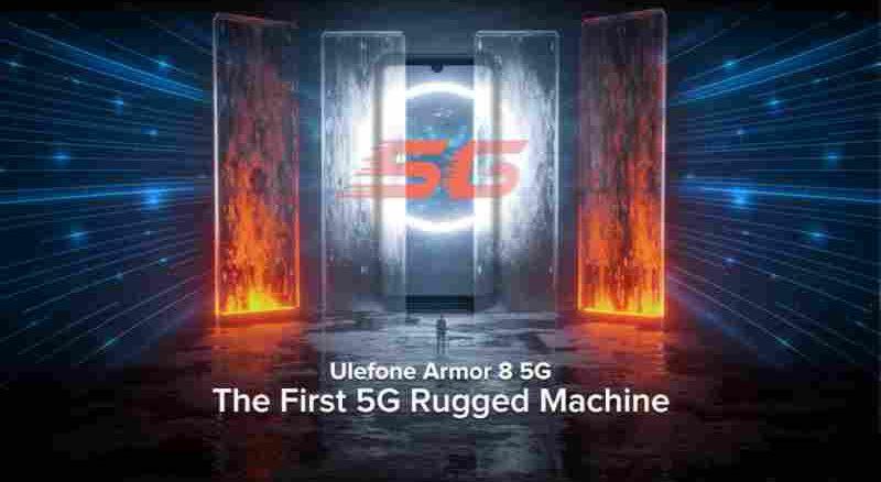 Ulefone Armor 8 5G – Erstes 5G-fähiges Outdoor- Smartphone vorgestellt
