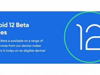 Android12 Beta