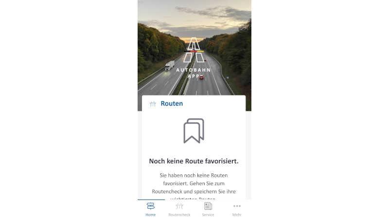 Gratis Autobahn-App – schnelle Infos rund um Verkehr vom Bund