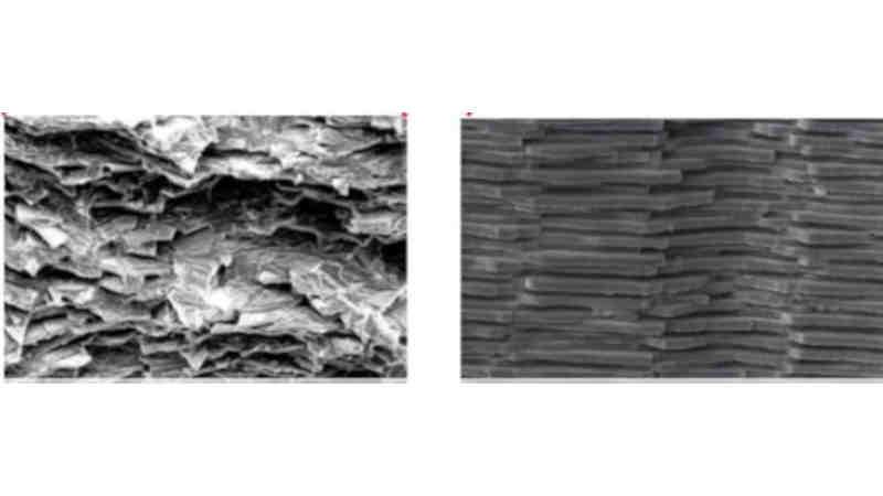 Unzerbrechliches Display-Glas – Forscher ahmen Perlmutt-Struktur nach